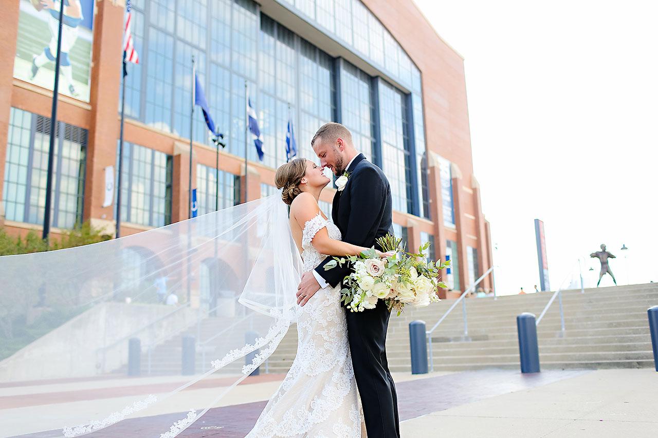 Erika Scott Regions Tower Indianapolis Wedding 133