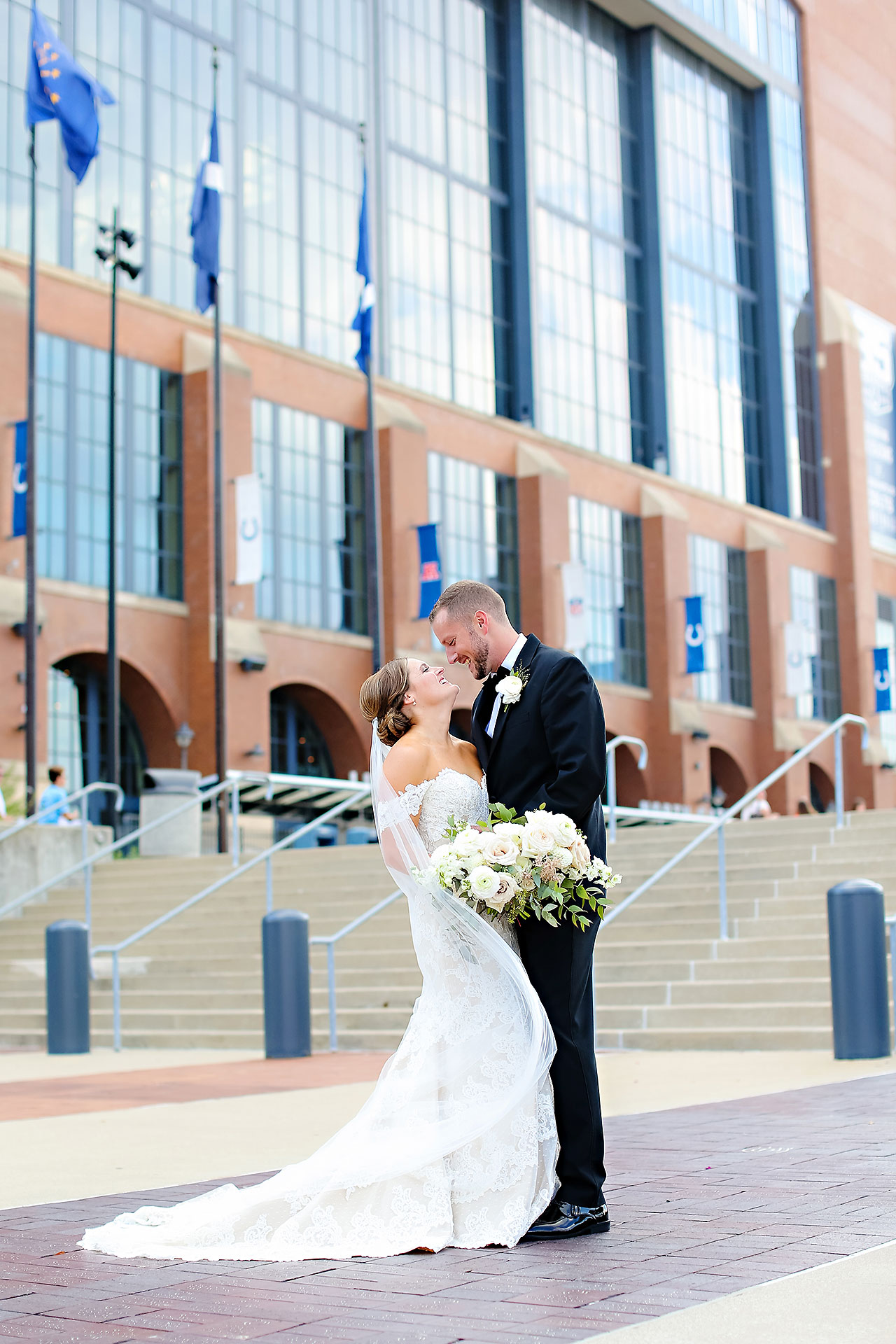Erika Scott Regions Tower Indianapolis Wedding 131