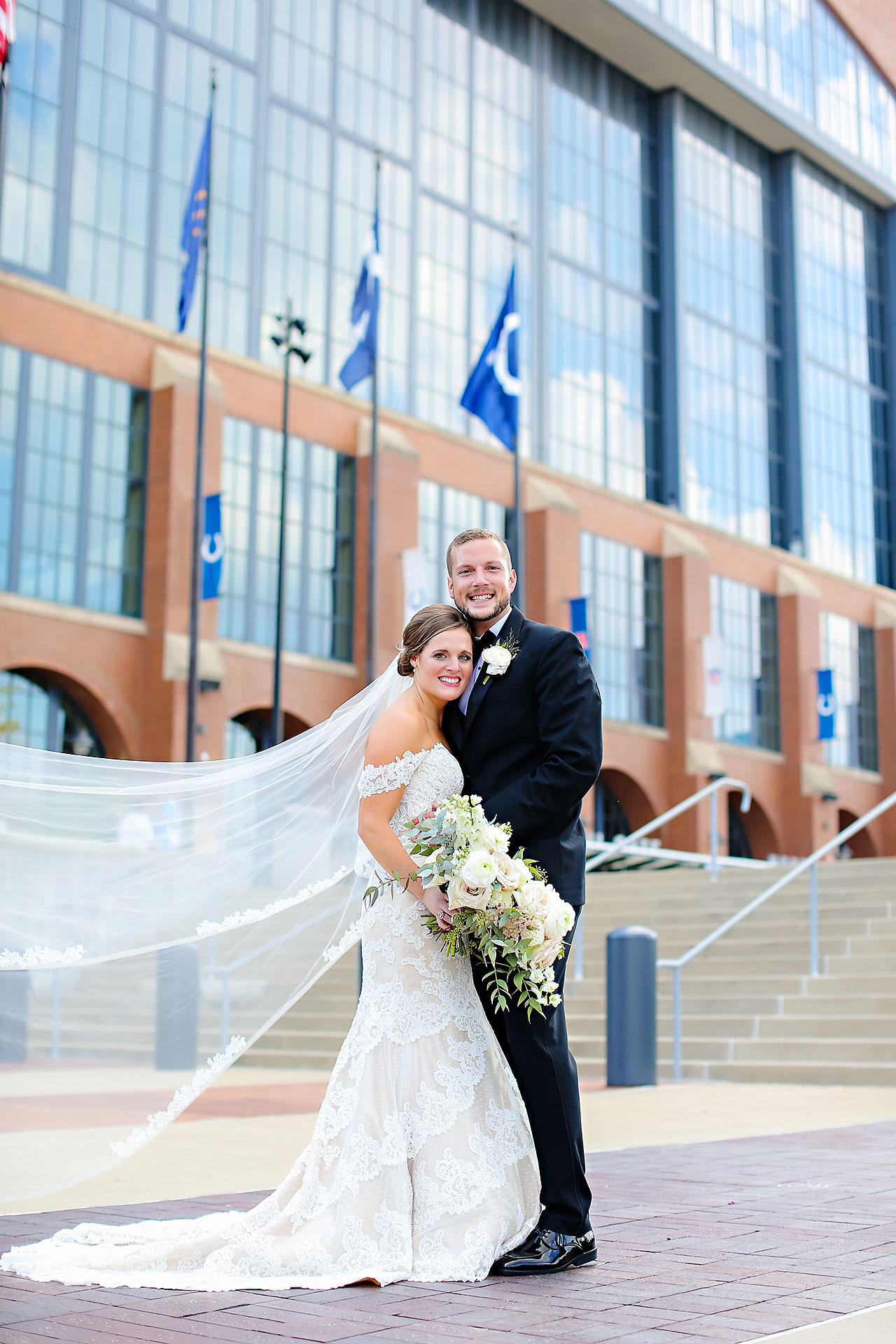 Erika Scott Regions Tower Indianapolis Wedding 127