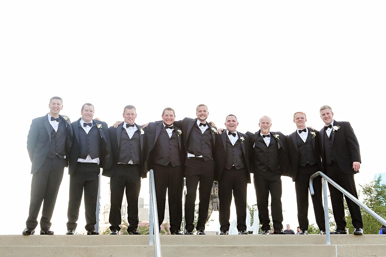 Erika Scott Regions Tower Indianapolis Wedding 121
