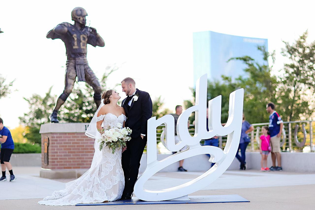 Erika Scott Regions Tower Indianapolis Wedding 117