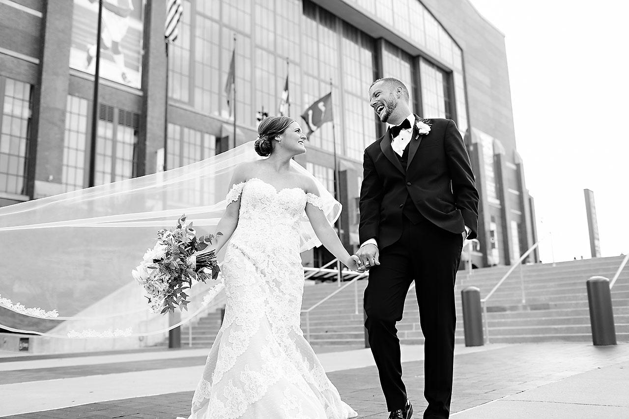 Erika Scott Regions Tower Indianapolis Wedding 115