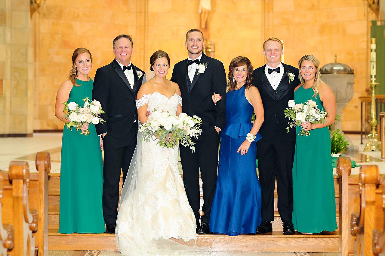 Erika Scott Regions Tower Indianapolis Wedding 107