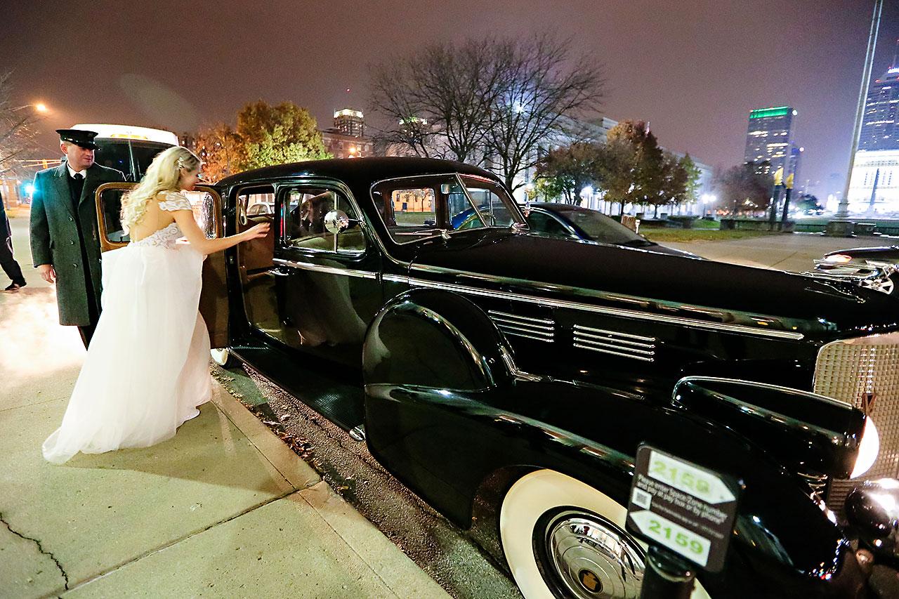 Emily Alex Indianapolis Central Library Wedding 409