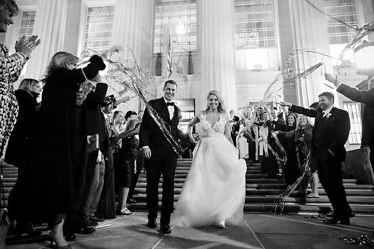 Emily Alex Indianapolis Central Library Wedding 406