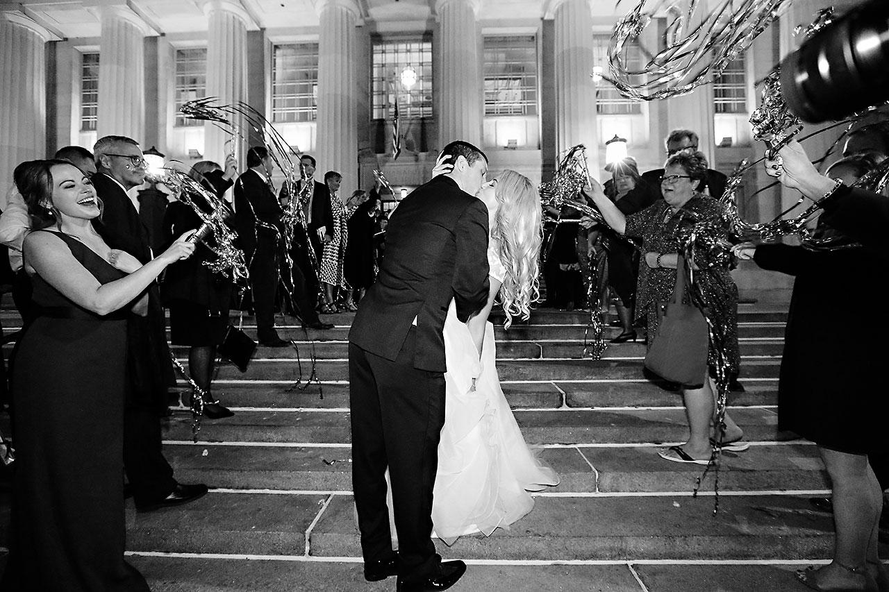 Emily Alex Indianapolis Central Library Wedding 408