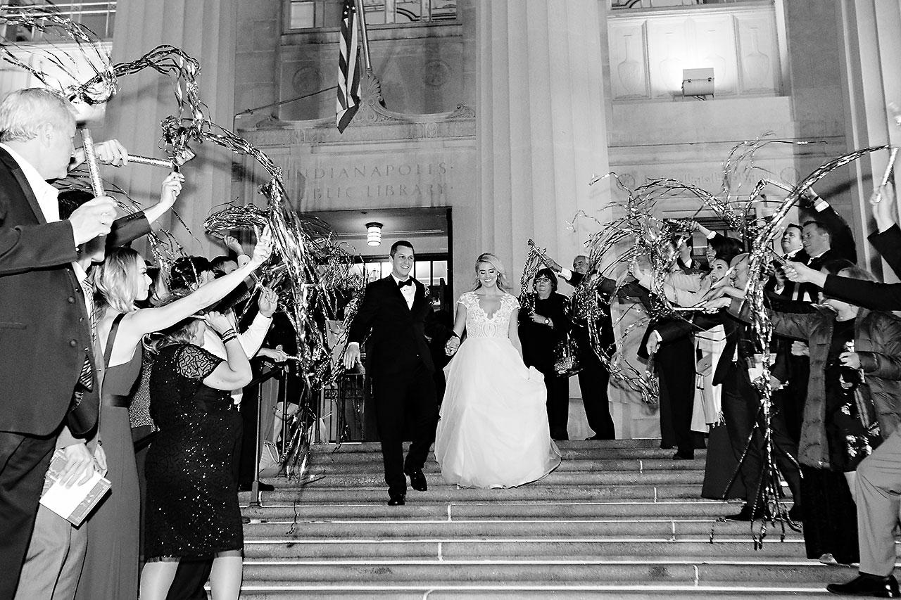 Emily Alex Indianapolis Central Library Wedding 404