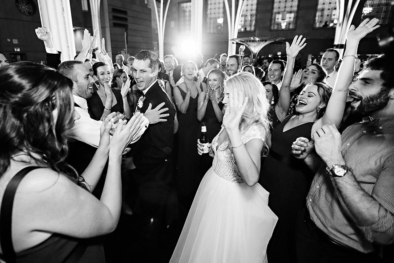 Emily Alex Indianapolis Central Library Wedding 396