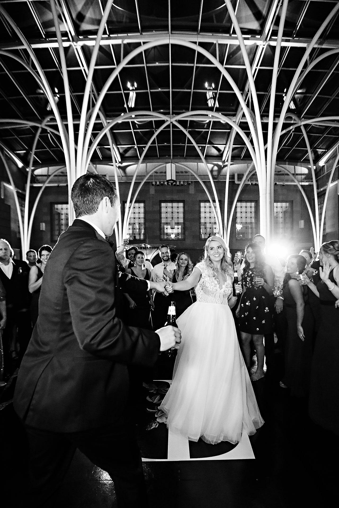 Emily Alex Indianapolis Central Library Wedding 394