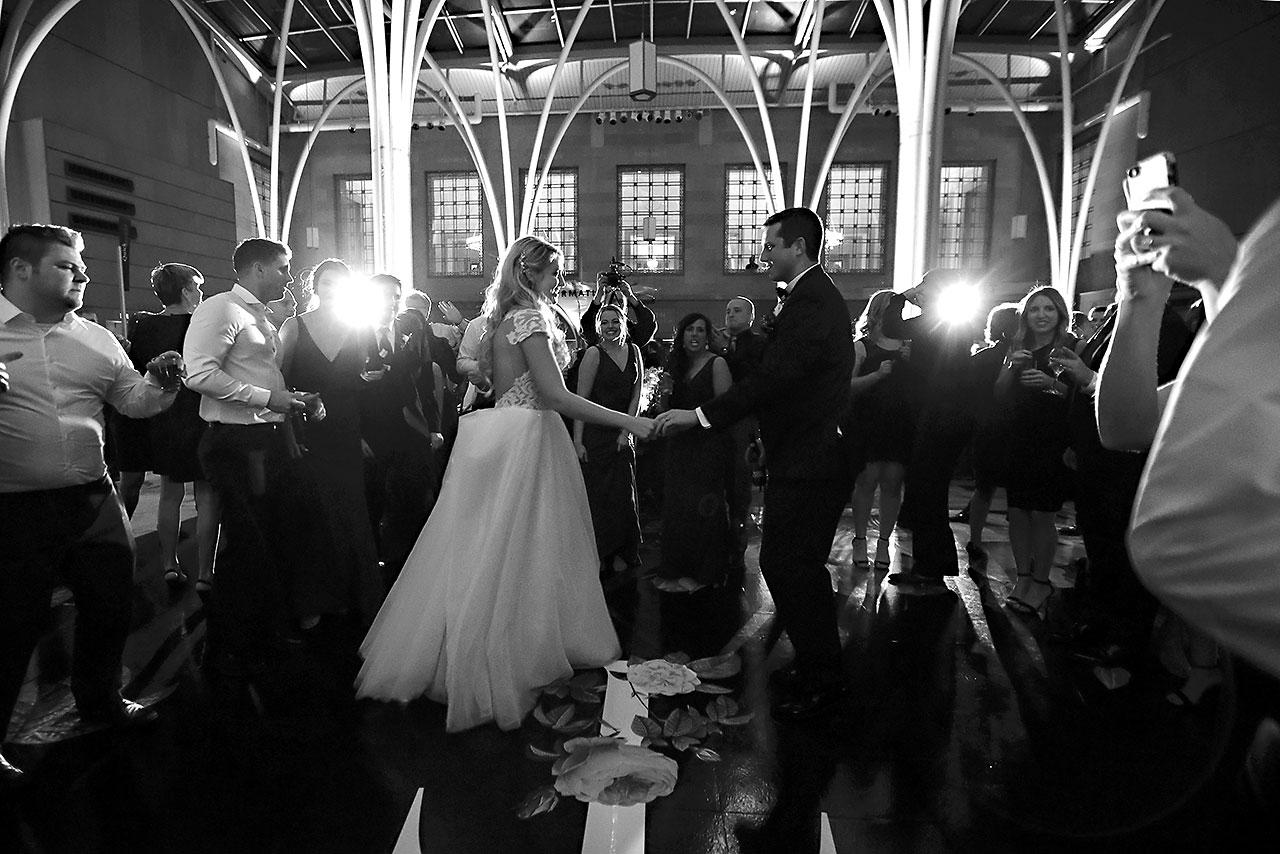 Emily Alex Indianapolis Central Library Wedding 388
