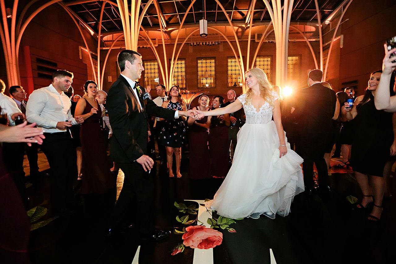 Emily Alex Indianapolis Central Library Wedding 386