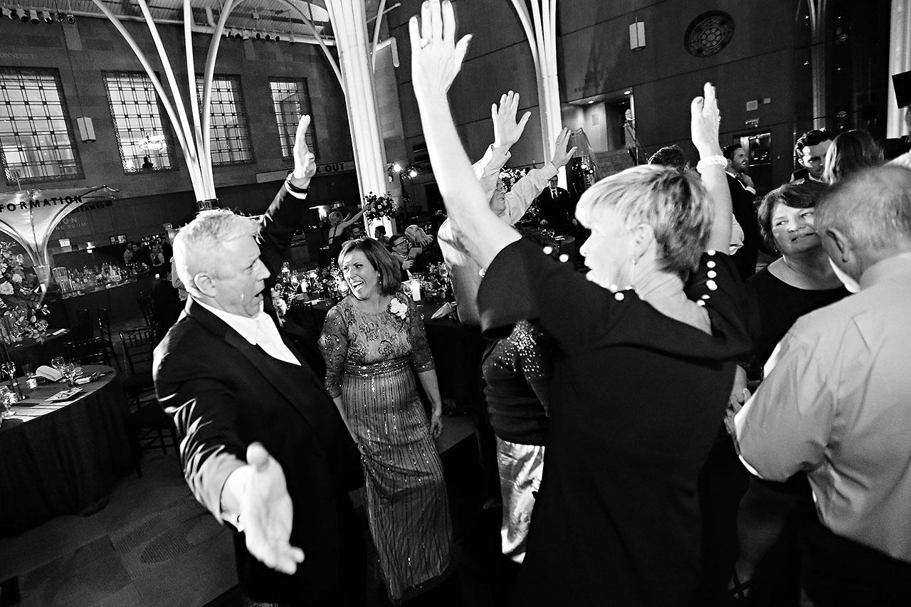 Emily Alex Indianapolis Central Library Wedding 371