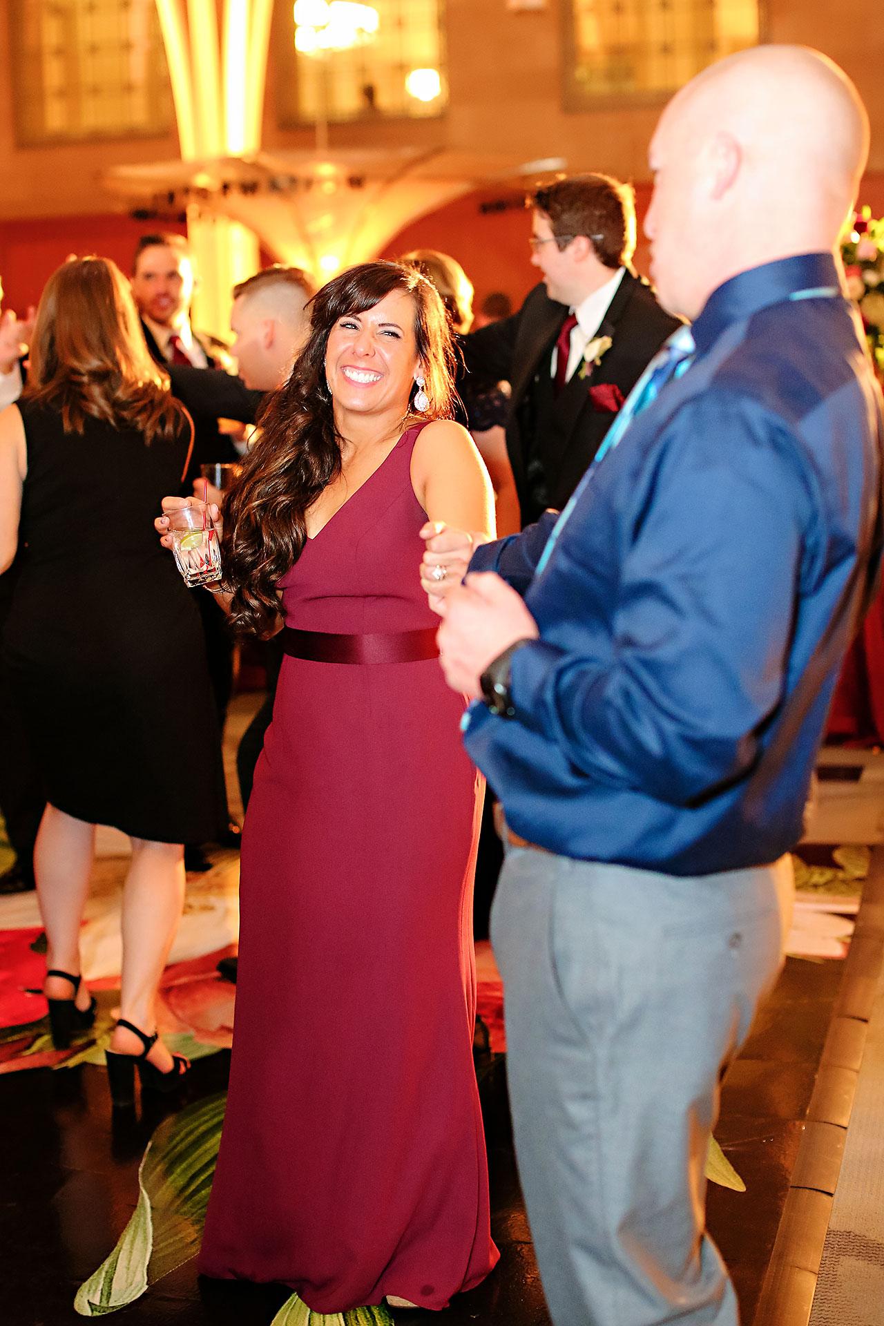 Emily Alex Indianapolis Central Library Wedding 362