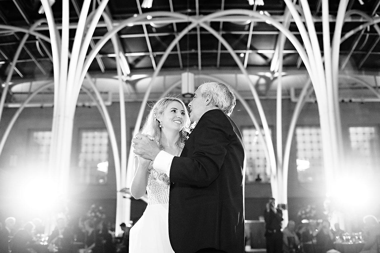 Emily Alex Indianapolis Central Library Wedding 349