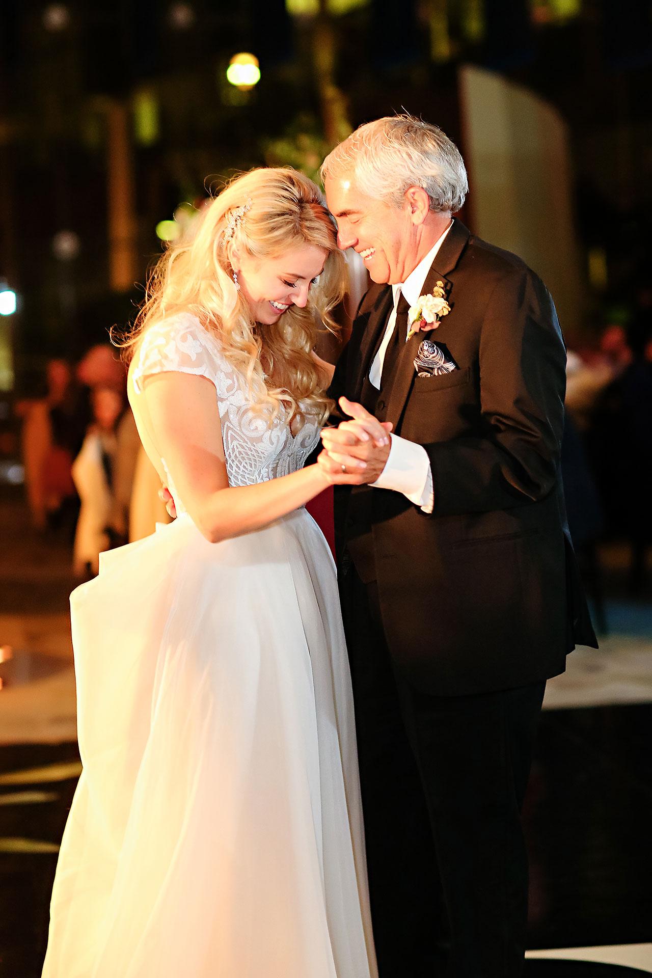 Emily Alex Indianapolis Central Library Wedding 347