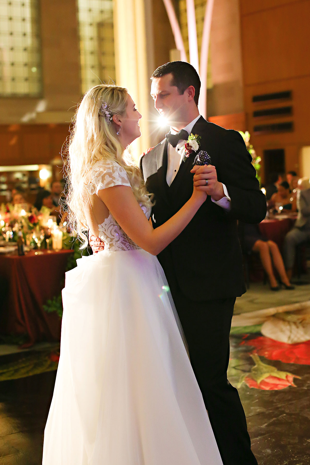Emily Alex Indianapolis Central Library Wedding 331