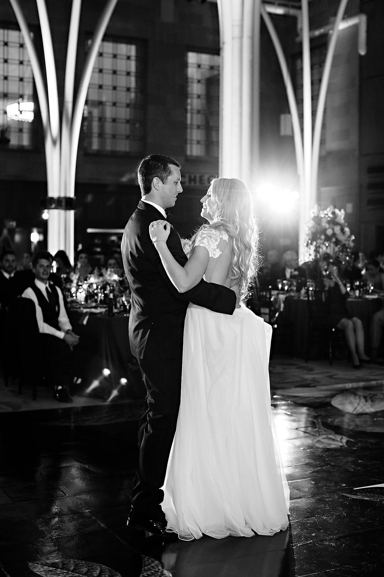 Emily Alex Indianapolis Central Library Wedding 330