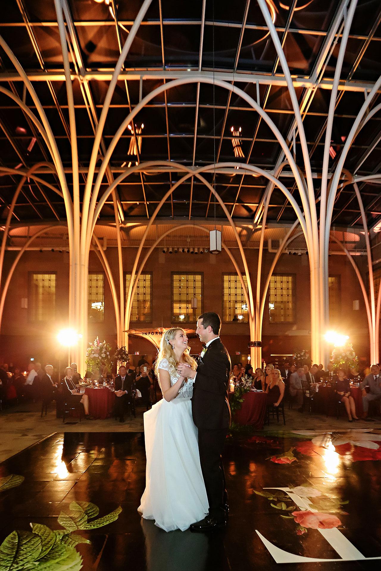Emily Alex Indianapolis Central Library Wedding 328