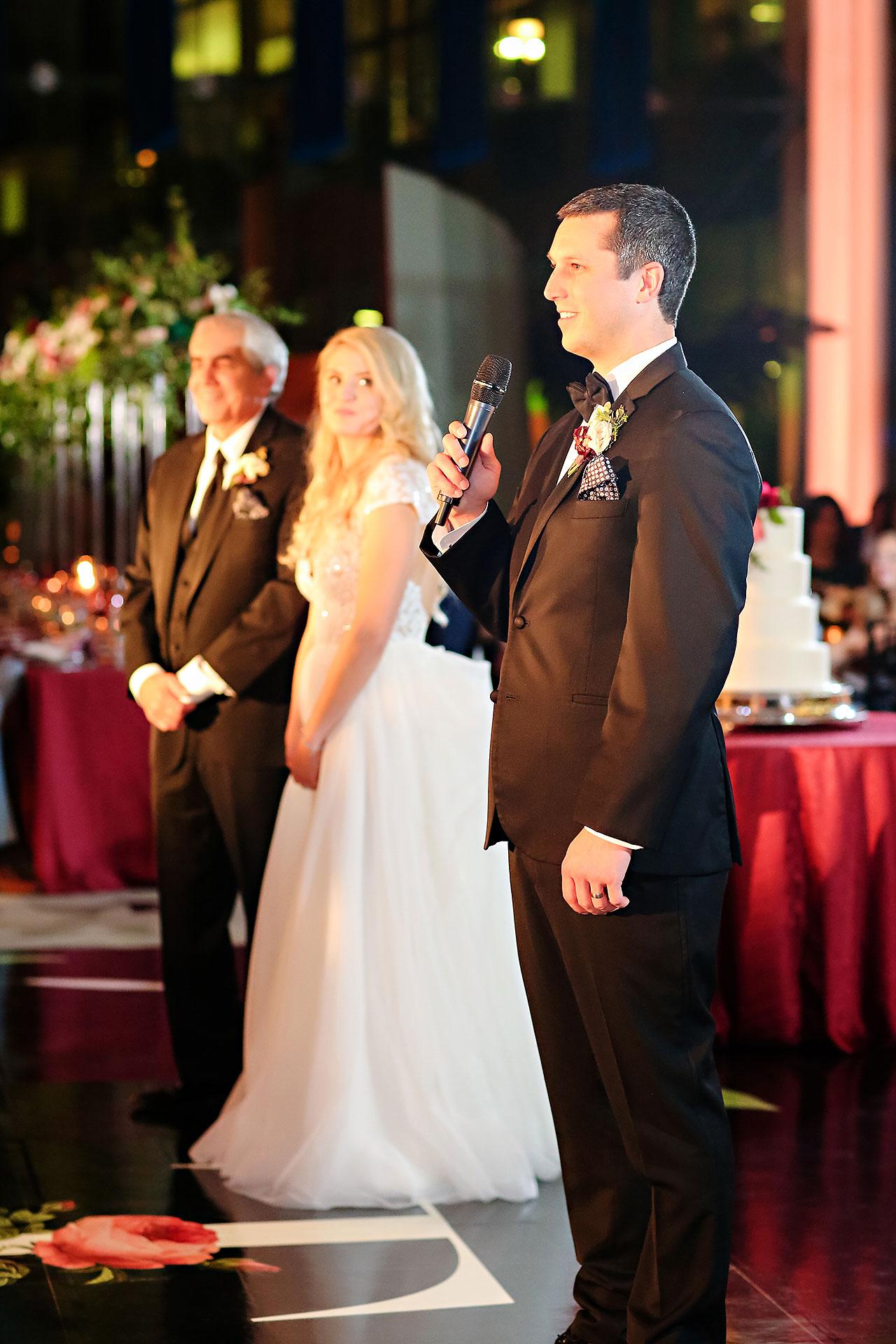 Emily Alex Indianapolis Central Library Wedding 321