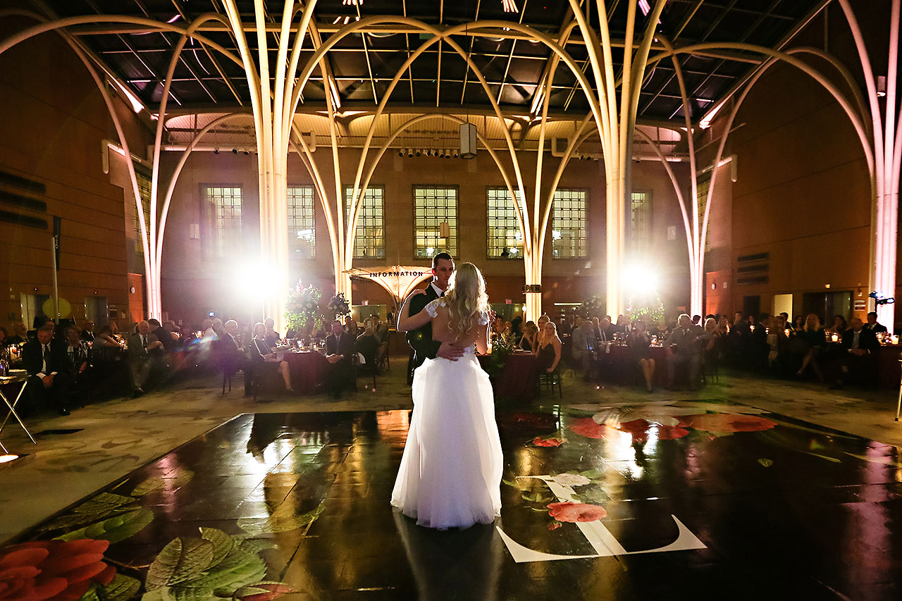 Emily Alex Indianapolis Central Library Wedding 318