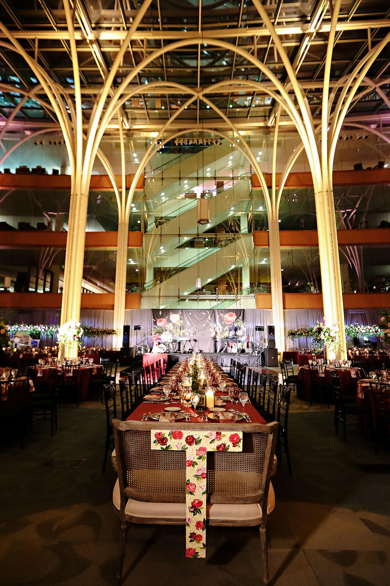 Emily Alex Indianapolis Central Library Wedding 270