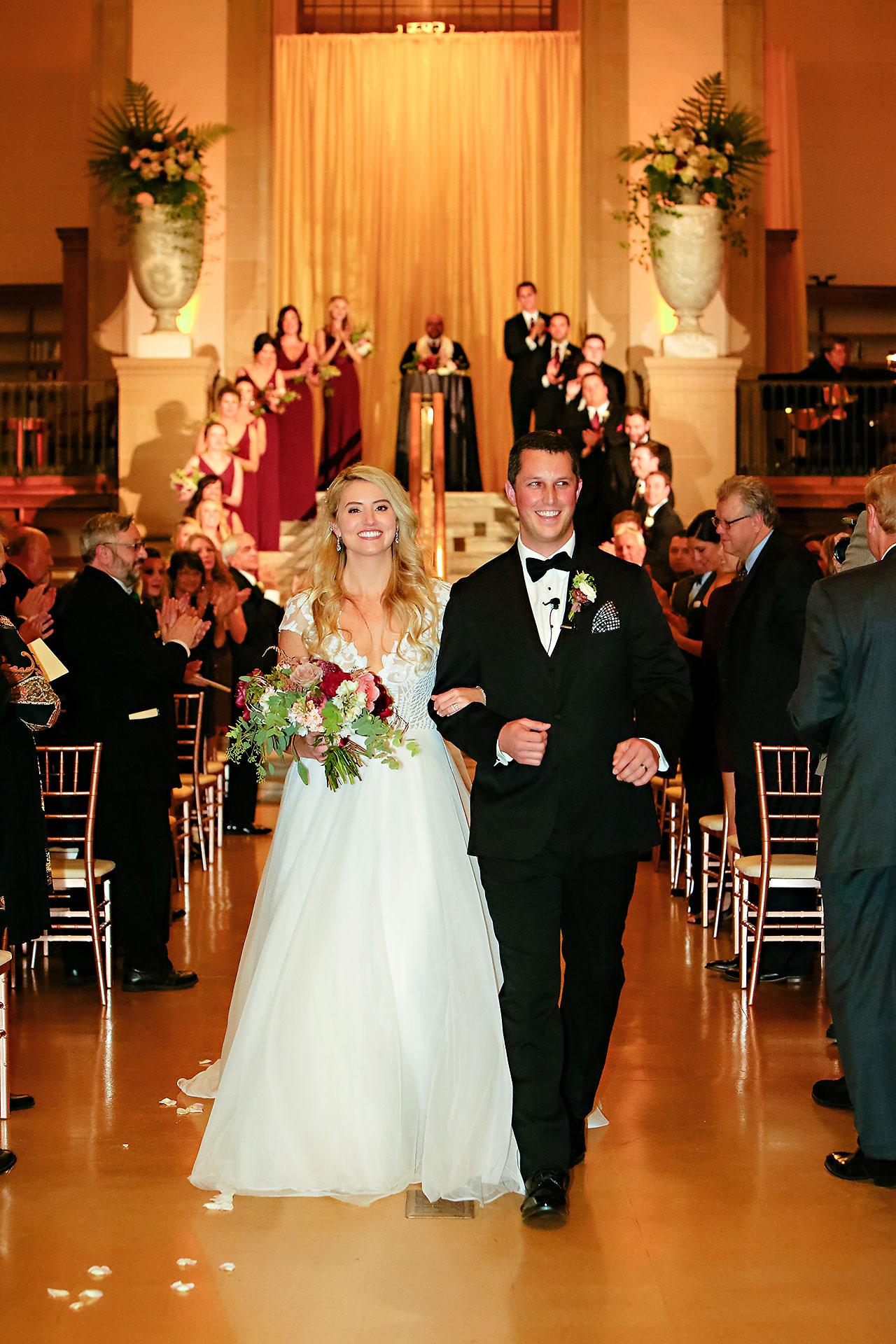 Emily Alex Indianapolis Central Library Wedding 246