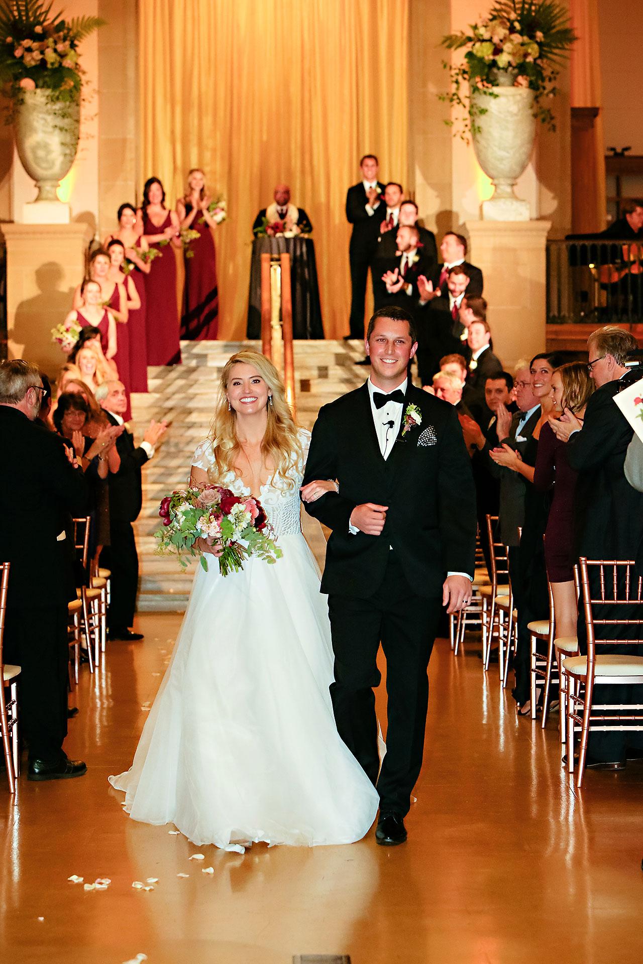 Emily Alex Indianapolis Central Library Wedding 245