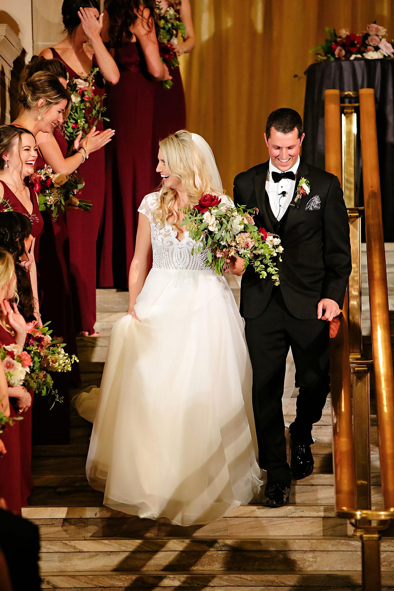 Emily Alex Indianapolis Central Library Wedding 242