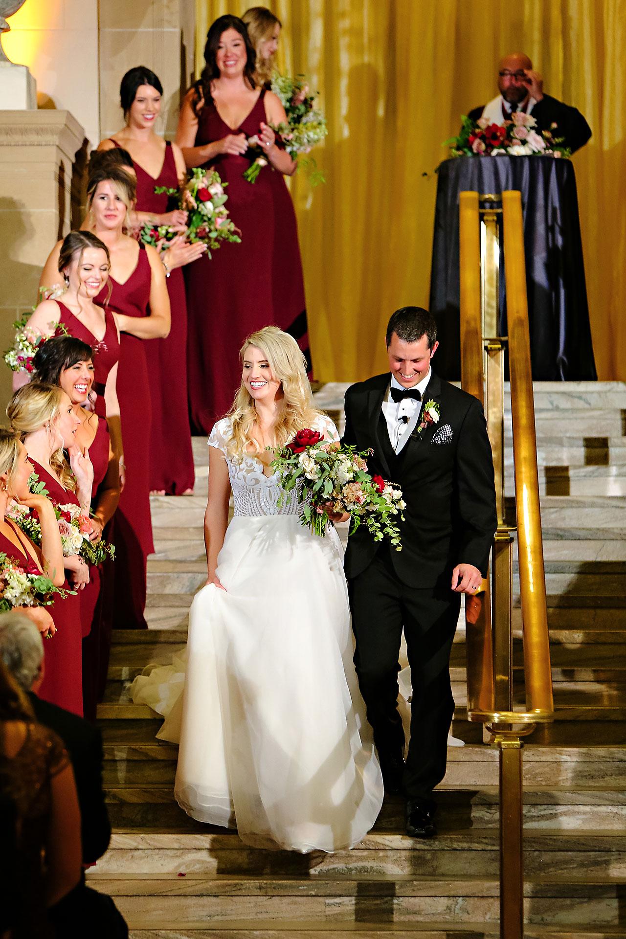 Emily Alex Indianapolis Central Library Wedding 243