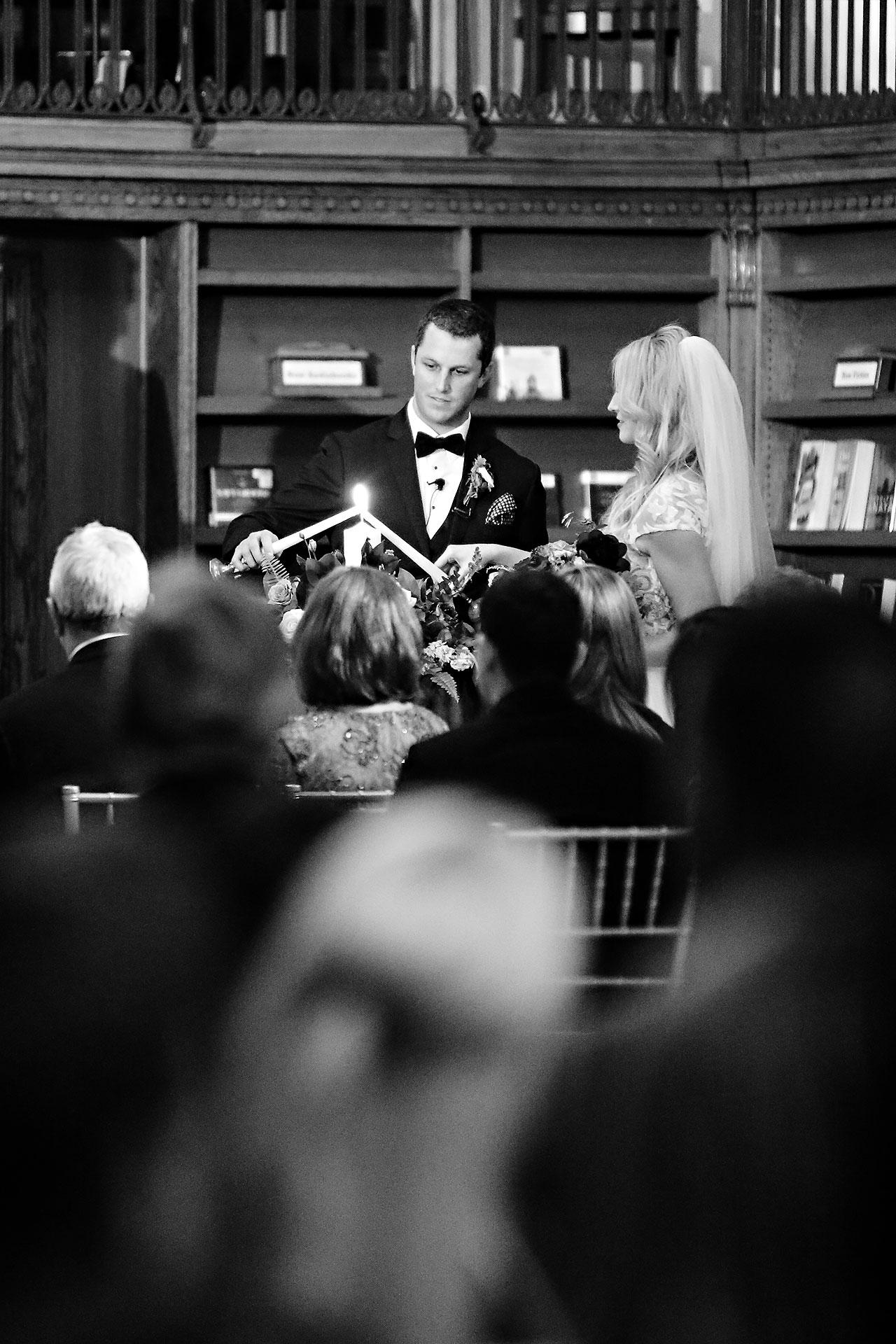 Emily Alex Indianapolis Central Library Wedding 240