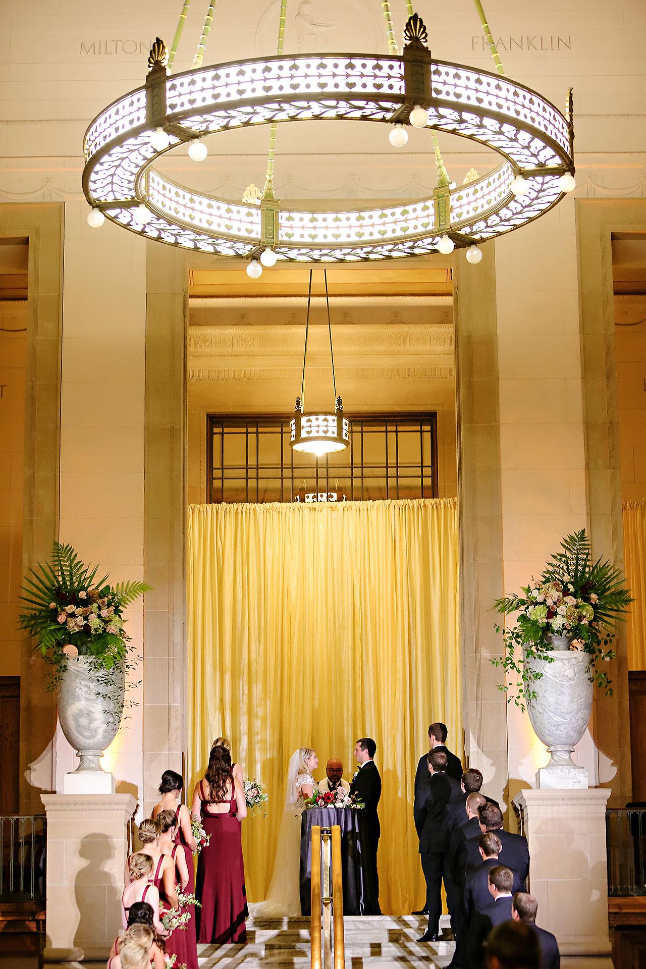 Emily Alex Indianapolis Central Library Wedding 241
