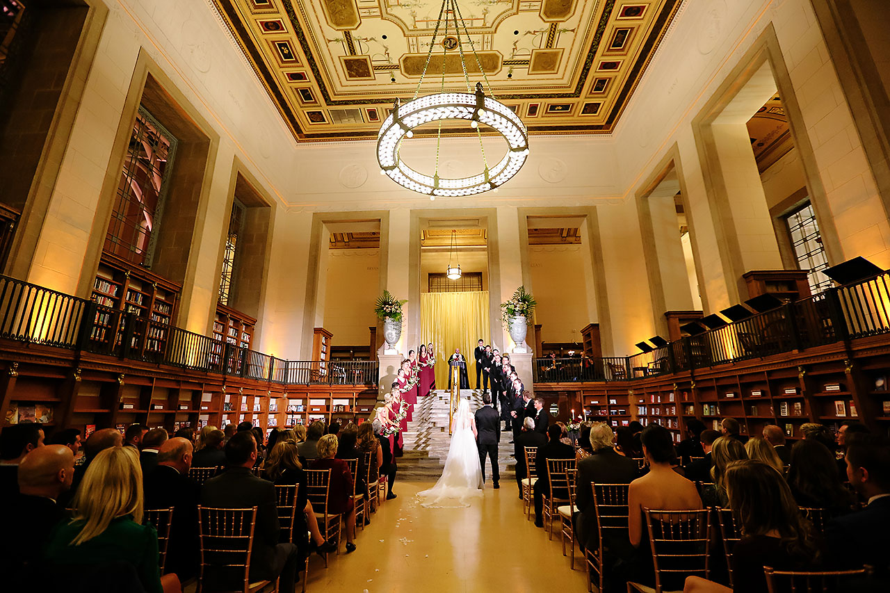 Emily Alex Indianapolis Central Library Wedding 238