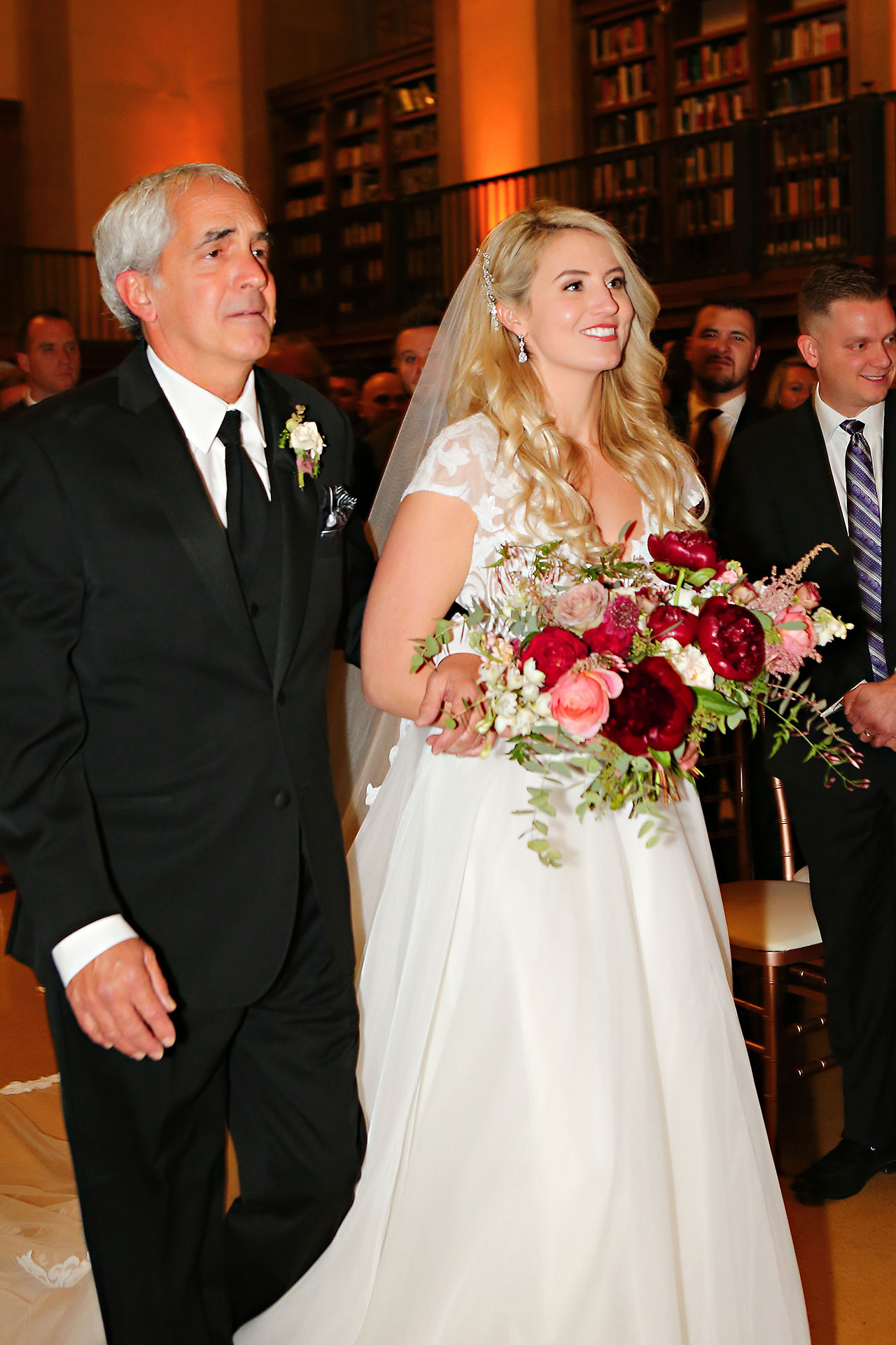 Emily Alex Indianapolis Central Library Wedding 234