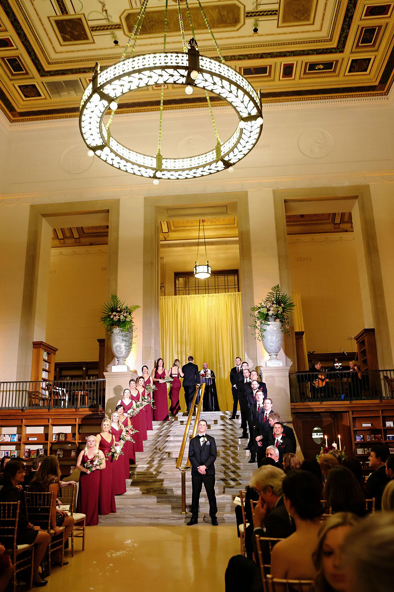 Emily Alex Indianapolis Central Library Wedding 232