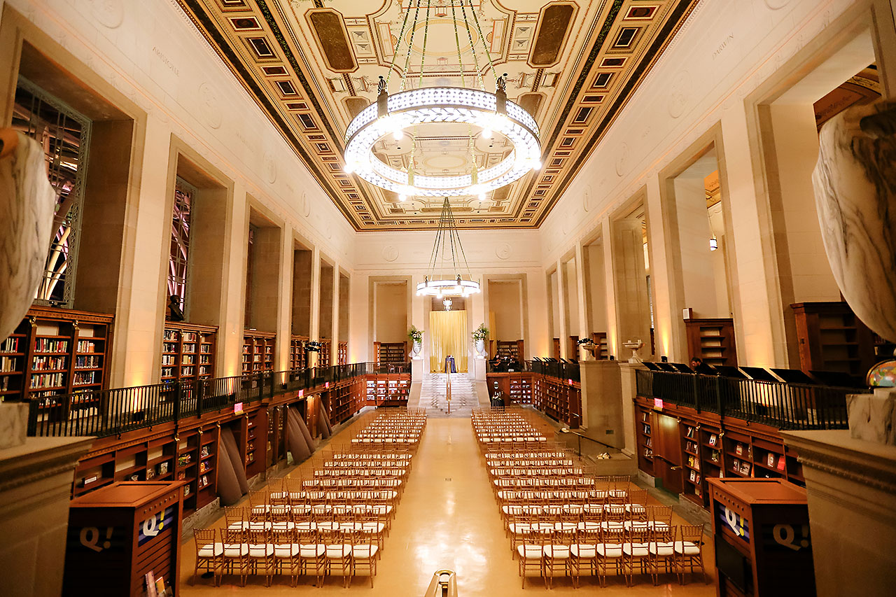 Emily Alex Indianapolis Central Library Wedding 229