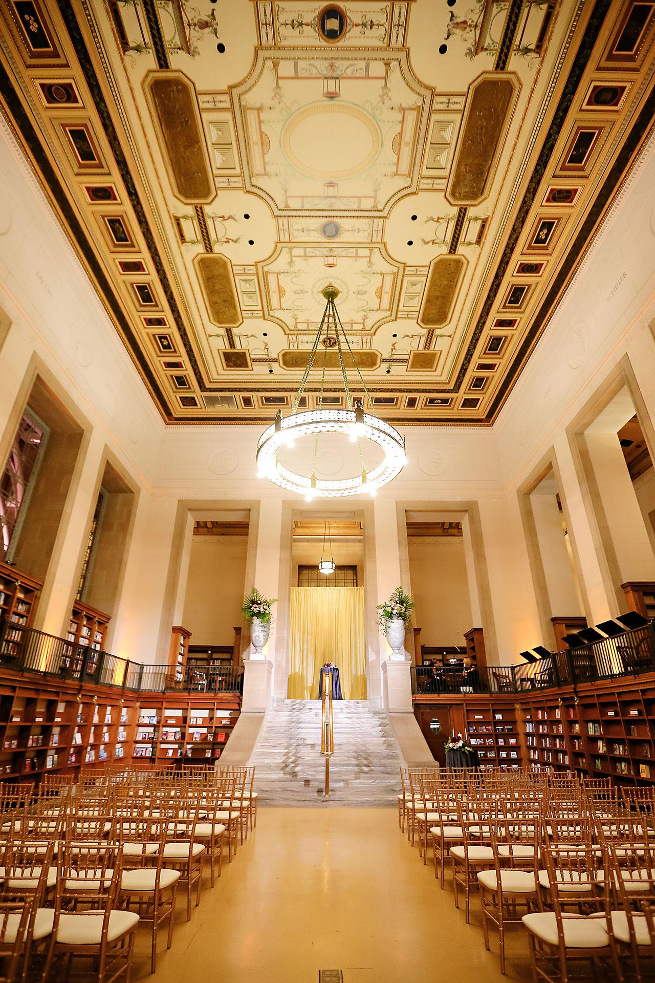 Emily Alex Indianapolis Central Library Wedding 224
