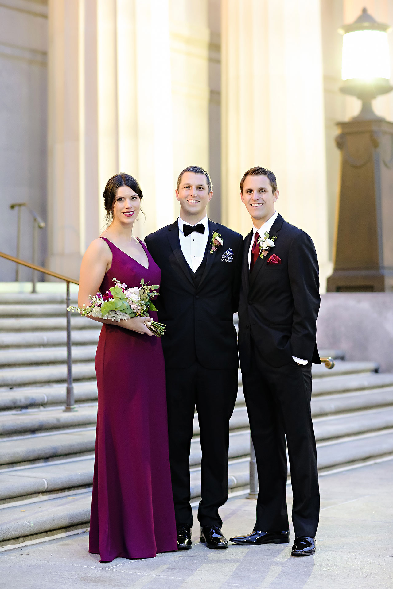 Emily Alex Indianapolis Central Library Wedding 223