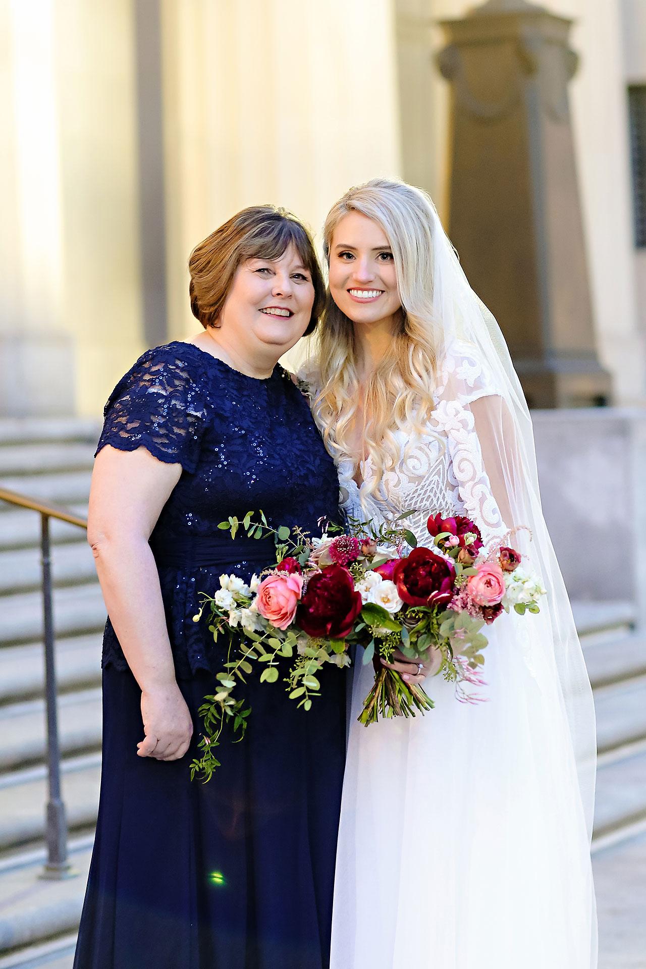 Emily Alex Indianapolis Central Library Wedding 220