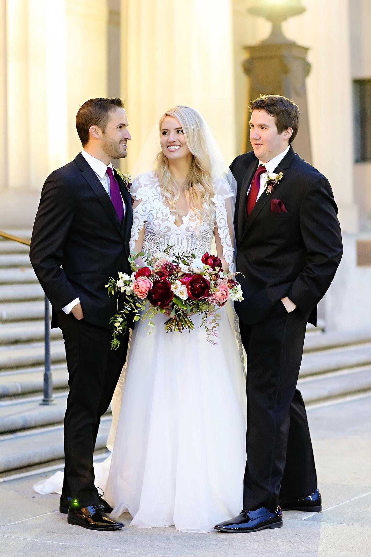 Emily Alex Indianapolis Central Library Wedding 221
