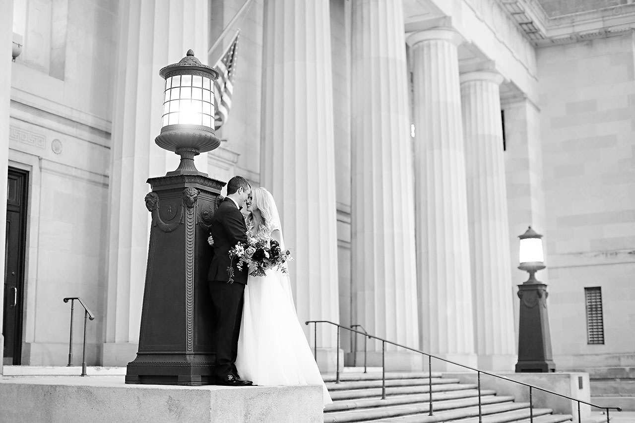 Emily Alex Indianapolis Central Library Wedding 218