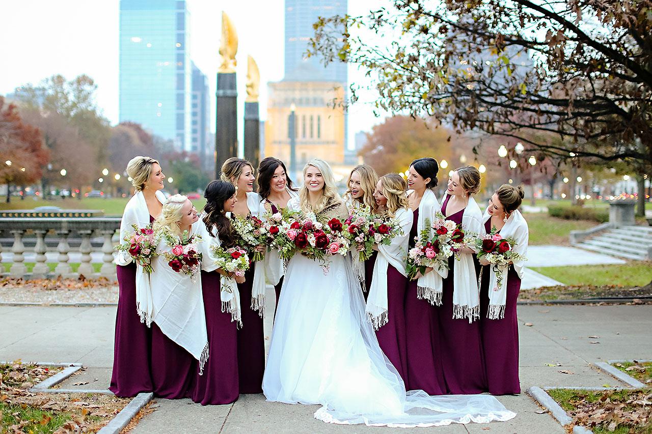 Emily Alex Indianapolis Central Library Wedding 219
