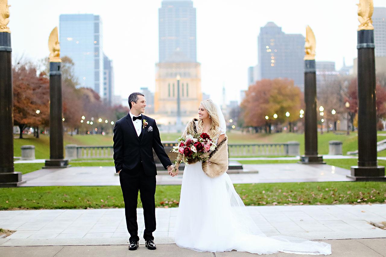 Emily Alex Indianapolis Central Library Wedding 215