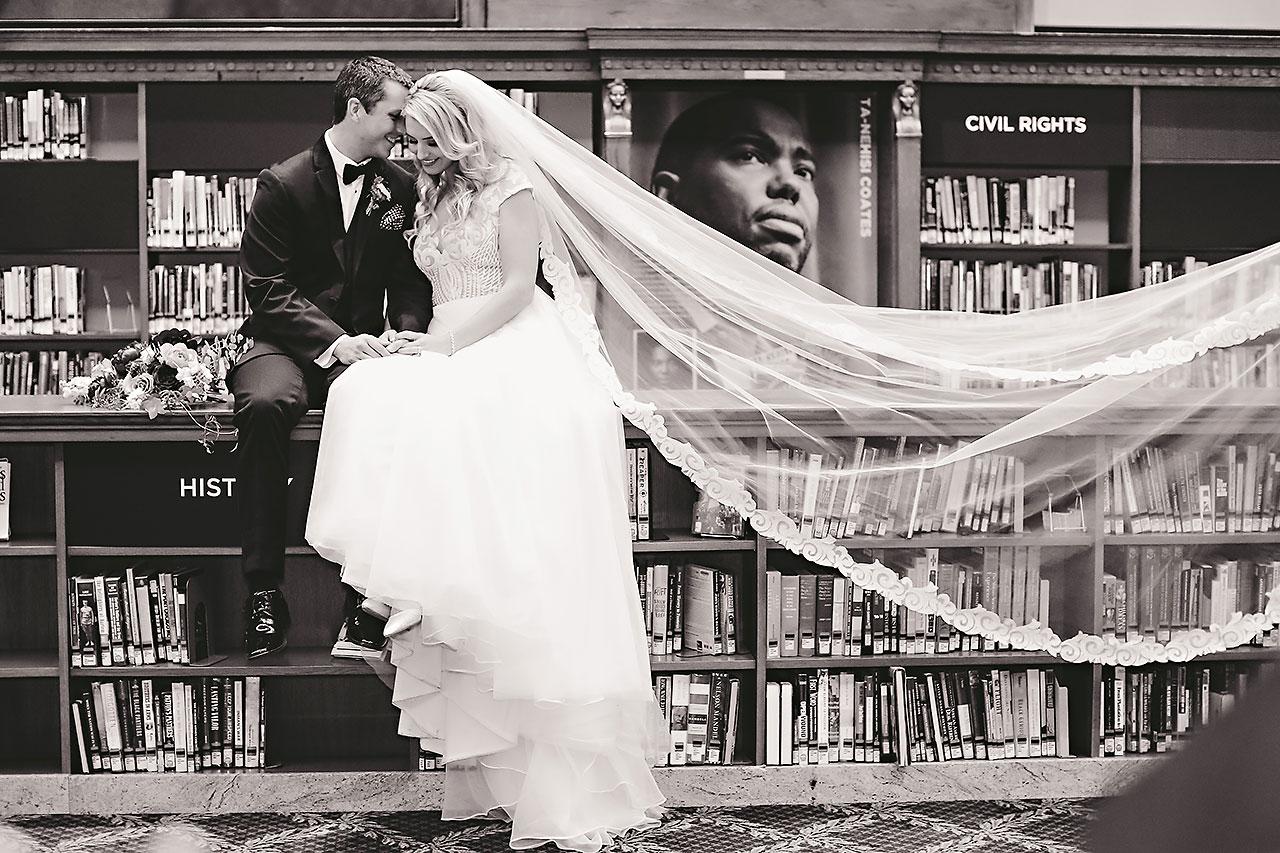 Emily Alex Indianapolis Central Library Wedding 216