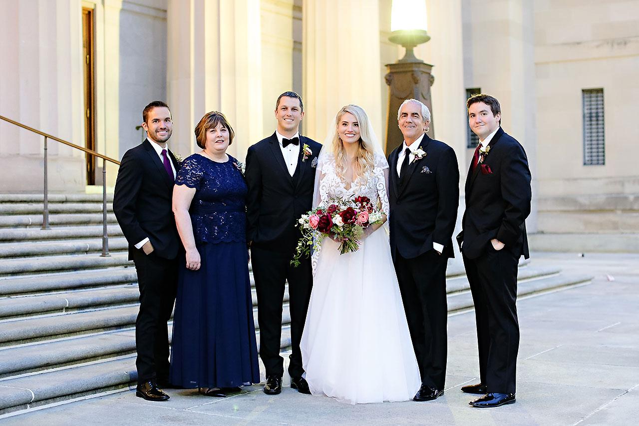 Emily Alex Indianapolis Central Library Wedding 213