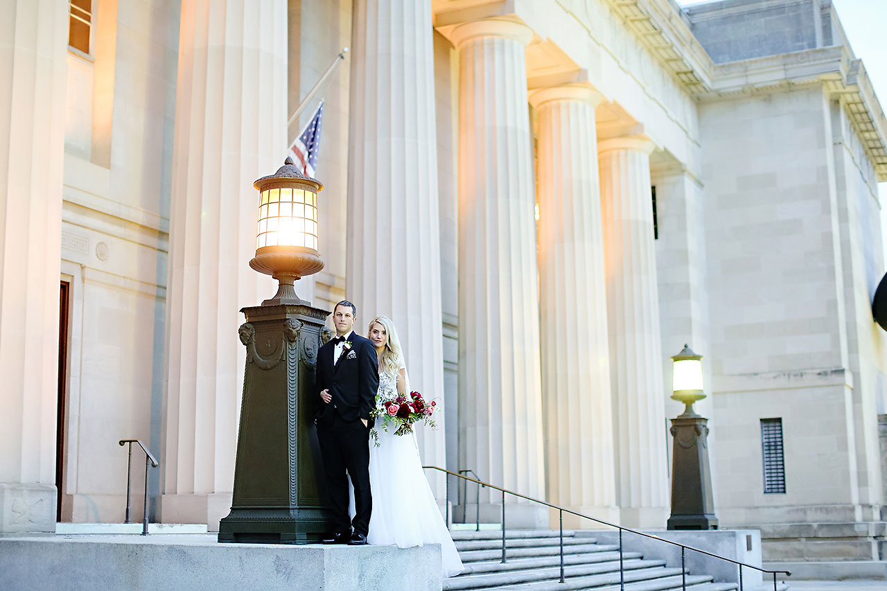 Emily Alex Indianapolis Central Library Wedding 211