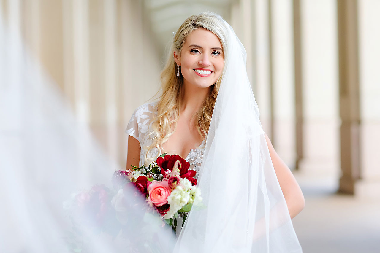 Emily Alex Indianapolis Central Library Wedding 206
