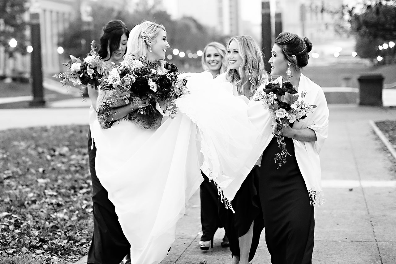 Emily Alex Indianapolis Central Library Wedding 207