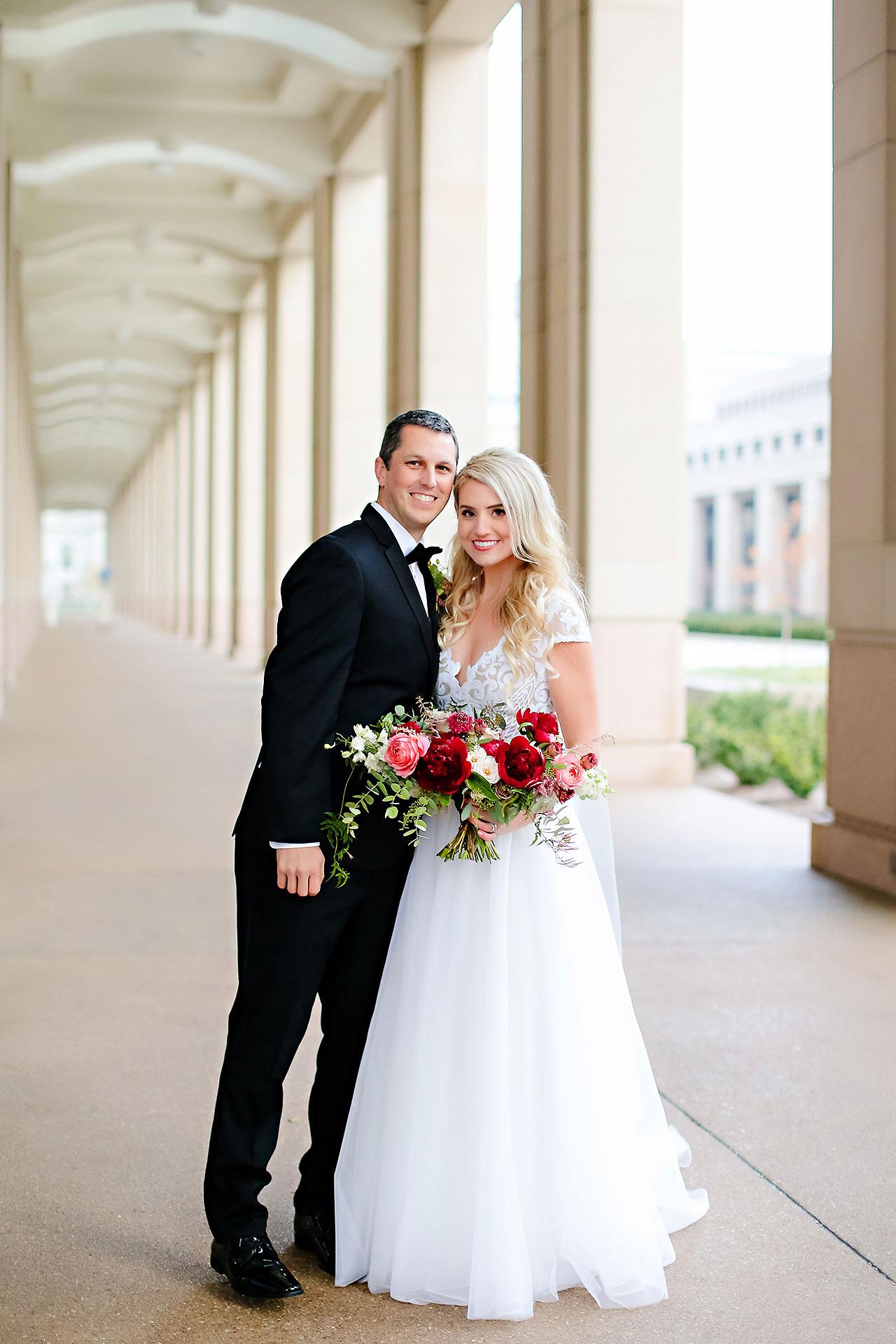 Emily Alex Indianapolis Central Library Wedding 204