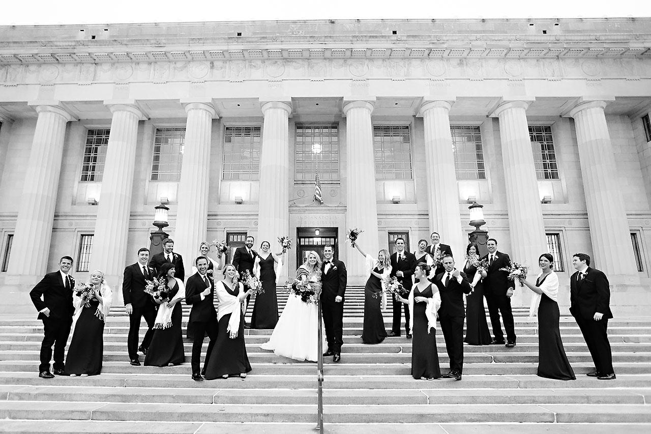 Emily Alex Indianapolis Central Library Wedding 192