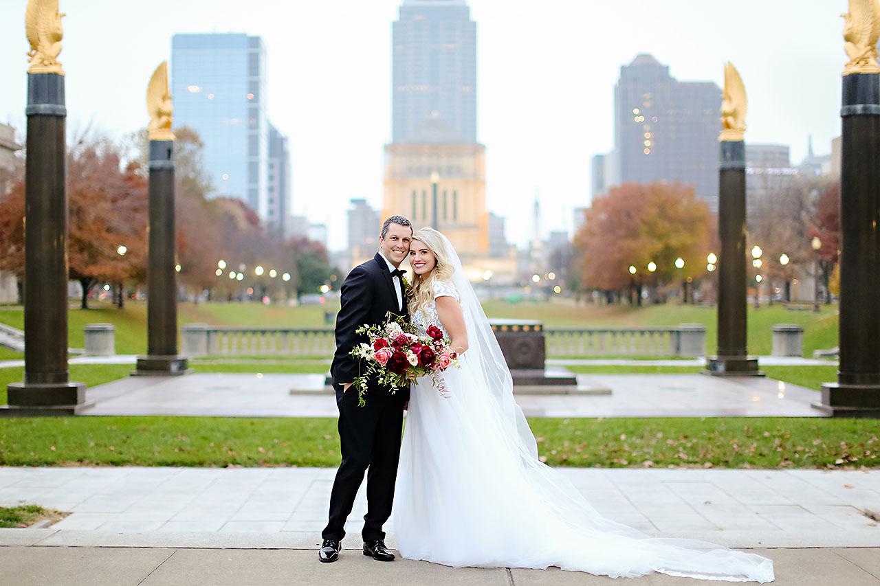 Emily Alex Indianapolis Central Library Wedding 193